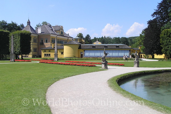Salzburg - Hellbrunn - House & Gardens