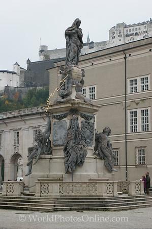 Salzburg - Fountain St  Florian 2