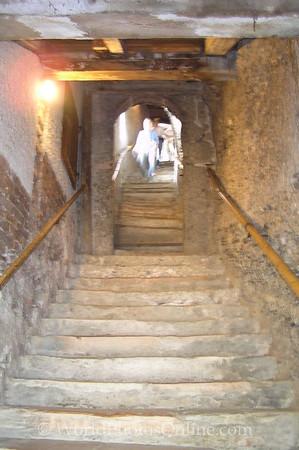 Salzburg - St Peter's Church - Cemetery -Catacombs Steps