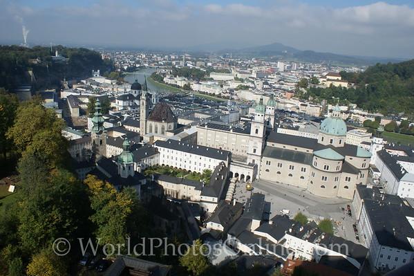 Salzburg - from Hohensalzburg Castle