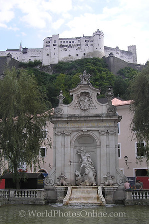 Salzburg - Fountain of Leopold