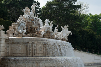Neptune Fountain in the Schönbrunn Garden - Vienna, Austria