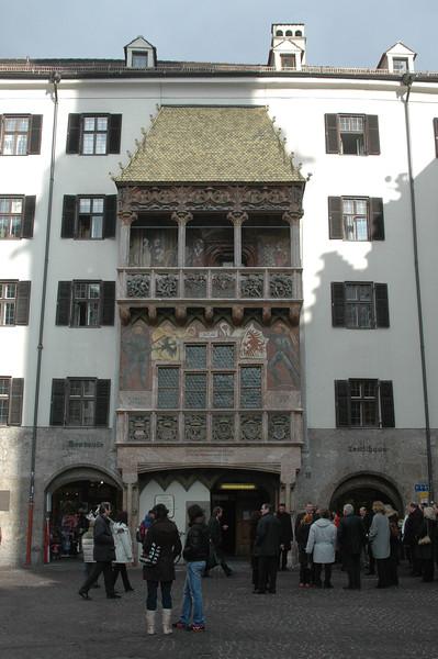 Goldenes Dachl (1500)