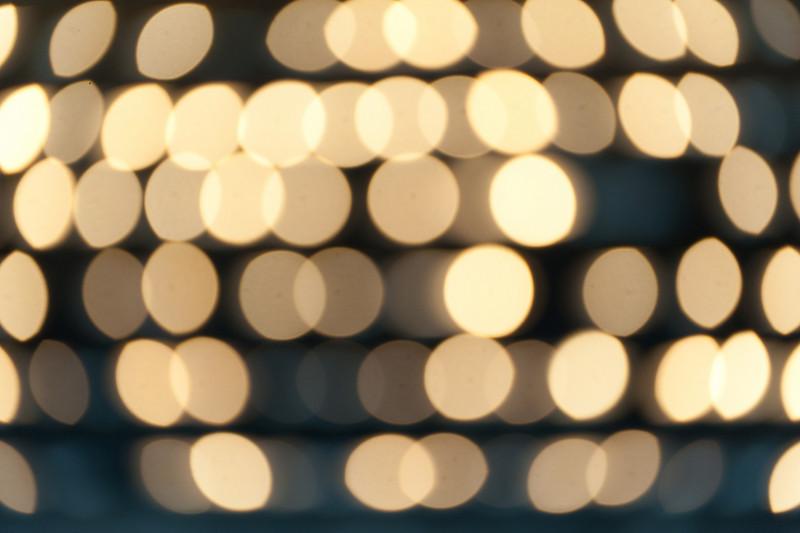 Glowing lights in Vienna, Austria