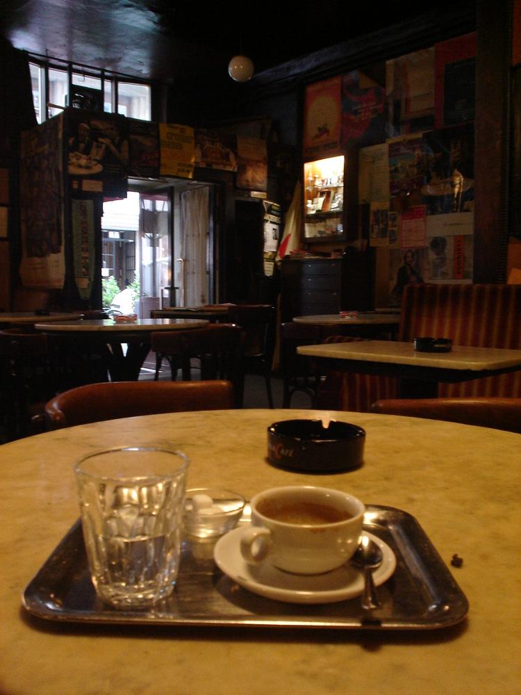 Cafe Hawelka - Vienna