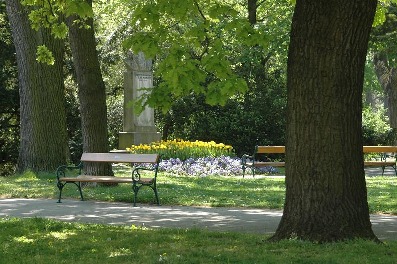 Linneplatz in Spring