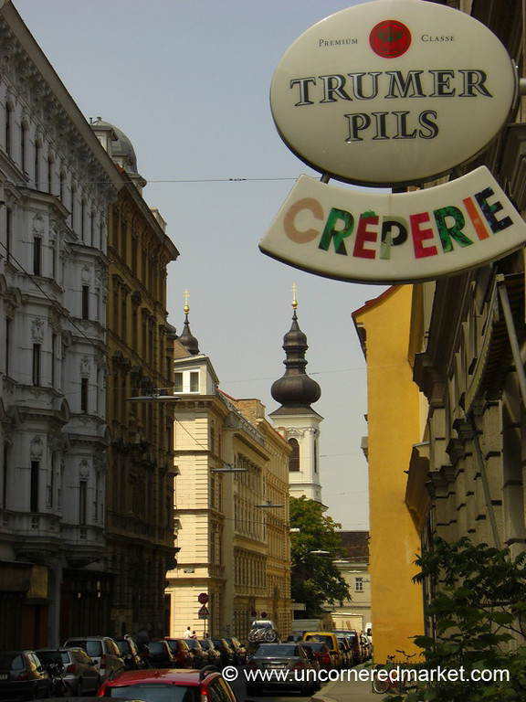 Quiet Streets of Vienna, Austria