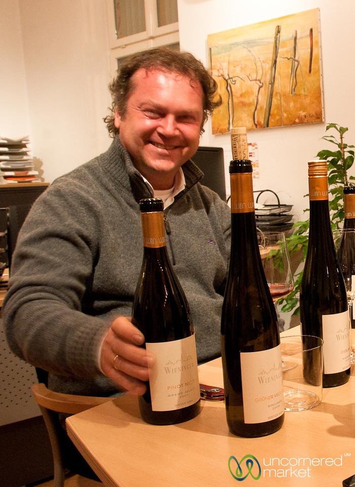 Wine Tasting at Wieninger Winery - Vienna, Austria