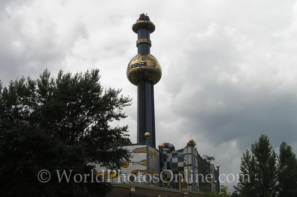 Vienna - Hundertwasser Power Plant