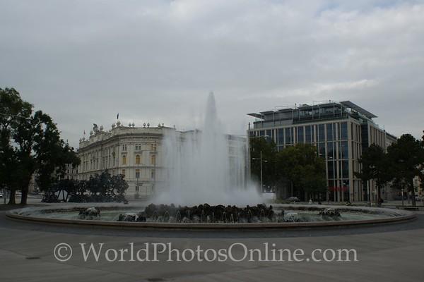 Vienna - Hochstrahlbrunnen Fountain