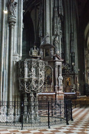 Vienna - St Stephen's Cathedral - Pulpit