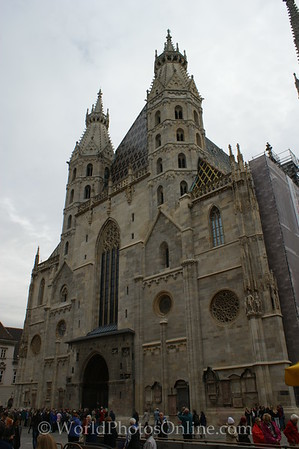 Vienna - St Stephen's Cathedral - Front