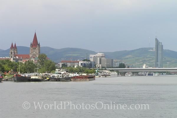 Vienna - Danube River