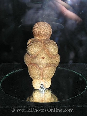 Vienna - Natural History Museum - Venus of Willendorf 30,000 BCE