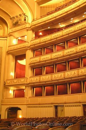 Vienna - Opera House - Performance Area - Box Seats