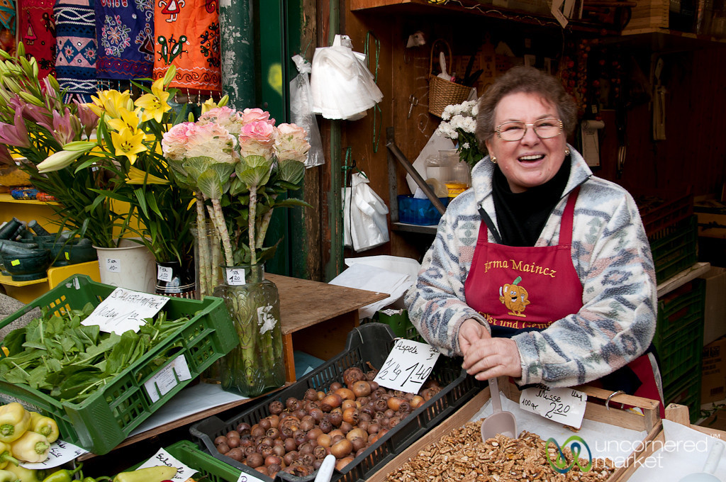Smiling Grandmother - Vienna, Austrai