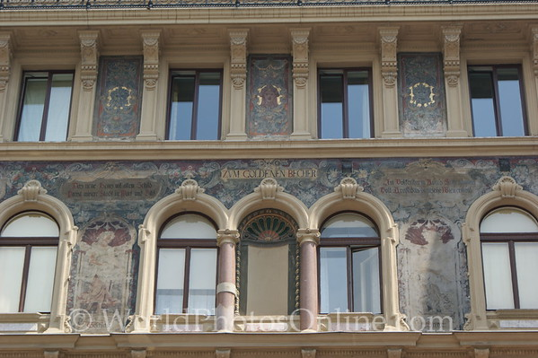 Vienna - Old Town Building - Detail