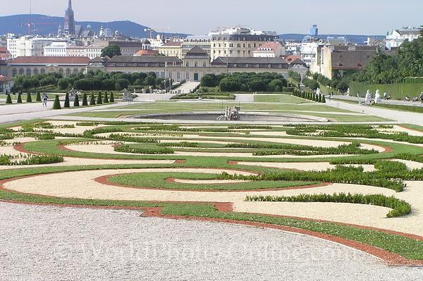 Vienna - Lower Belvedere & Gardens