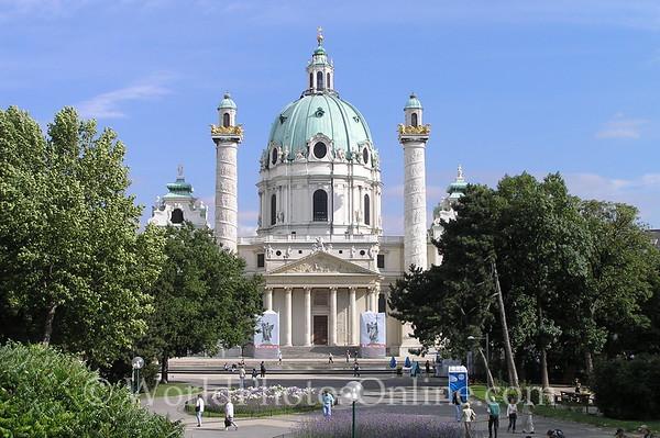 Vienna - St Charles Borromeo Church