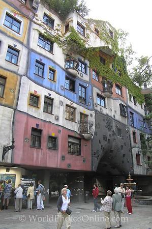Vienna - Hunderwasser Apartments 2