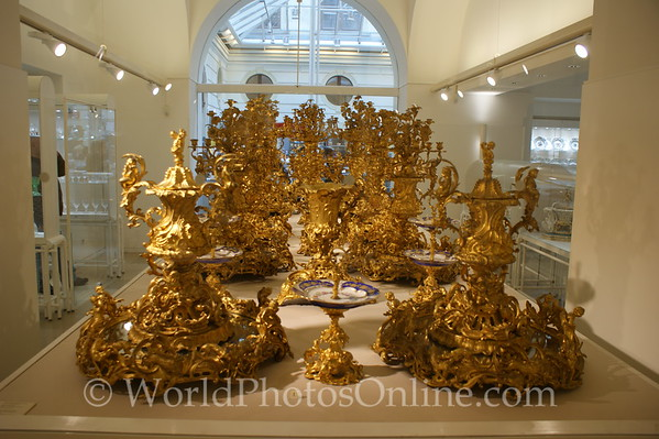 Vienna - Hapsburg China Collection - Table Center Pieces