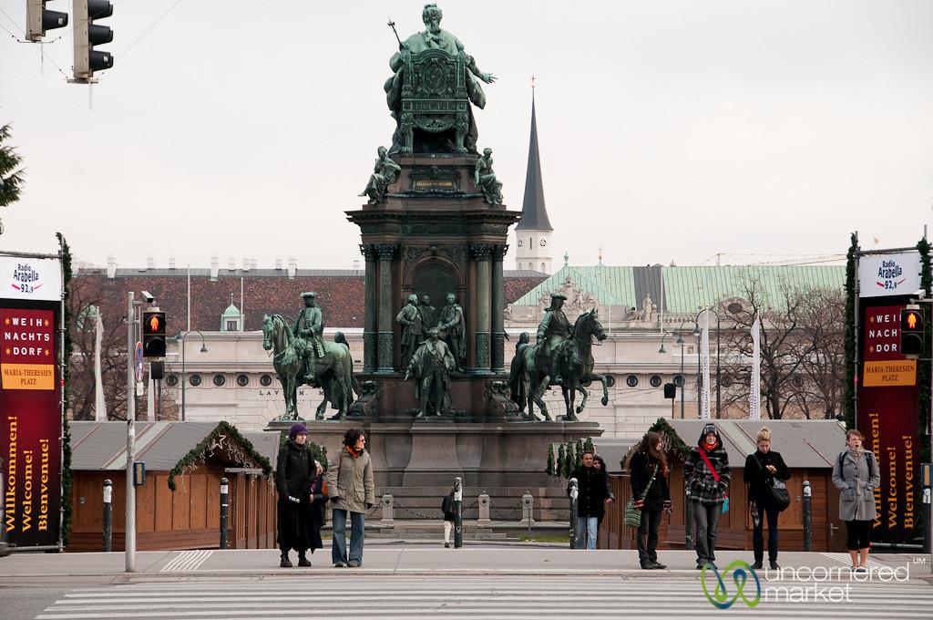 Leaving the MuseumQuartier - Vienna, Austria