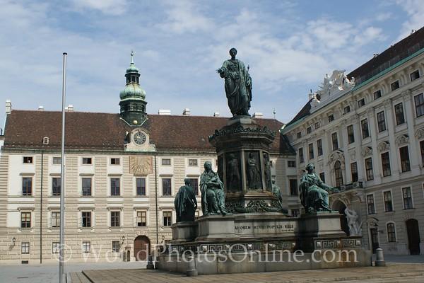Vienna - Monument to Emperor Franz I & II