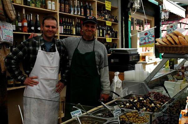 Olive Vendors - Naschmarkt,  Vienna