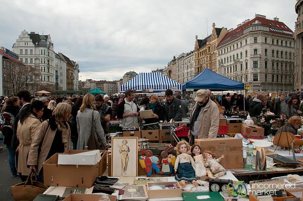 Old Dolls and LPs - Vienna, Austria