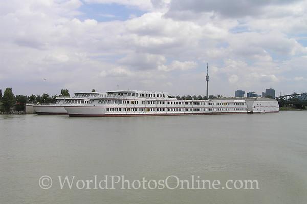 Vienna - Danube River - School Boats