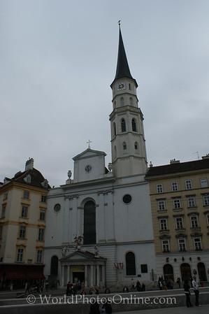 Vienna - St  Michael's Church