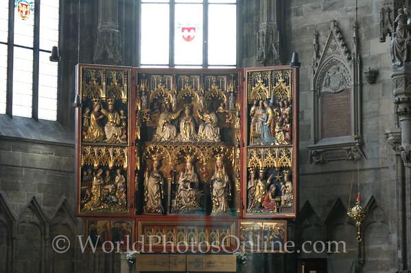 Vienna - St Stephen's Cathedral - Wiener Neustädter Altar