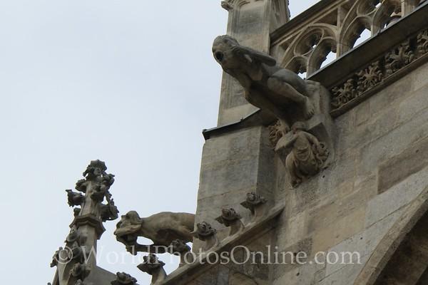 Vienna - St Stephen's Cathedral - Gargoyles