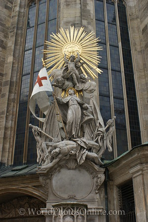 Vienna - St Stephen's Cathedral - Statue