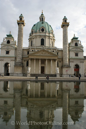 Vienna - St Charles Borromeo Church 2