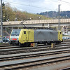MRCE Dispolok loco 189 916 at Kufstein on the 16th April 2008.