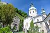 Peterskirche, Salzburg, Austria.