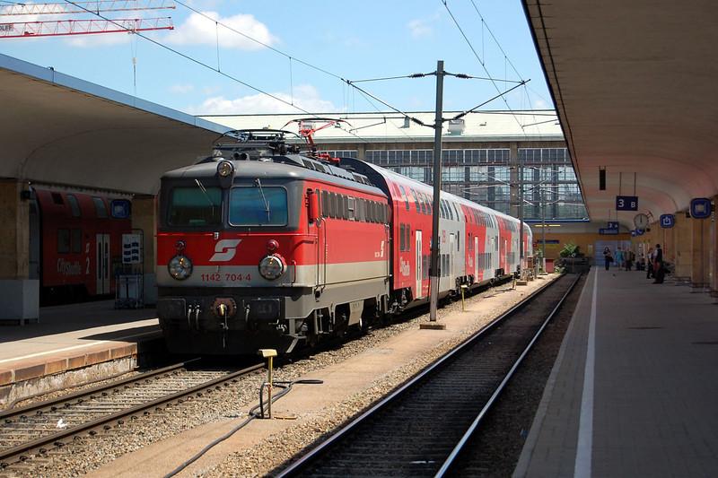 1142704 at Wien Westbahnhof.