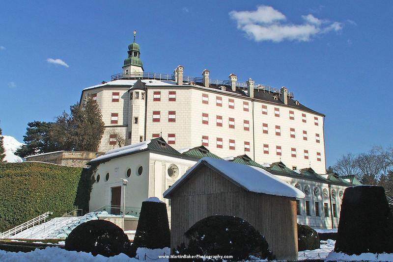 Schloss Ambras, Innsbruck, The Tyrol, Austria.