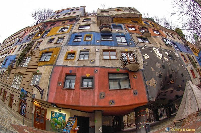 Hundertwasser Haus - Vienna, Austria
