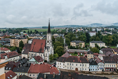 Melk seen from Melk Abby