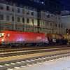 1016 001 at Linz Hauptbahnhof during the night of the 22nd June 2010.