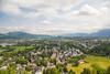 View from Hohensalzburg, Salzburg, Austria.