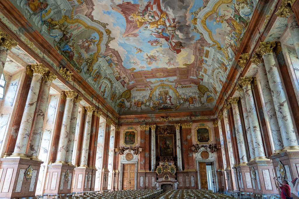 Marble Hall at Saint Florian Monastery