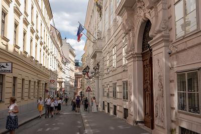 Street in Vienna, Austria