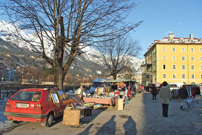 Rennweg, Innsbruck, The Tyrol, Austria.