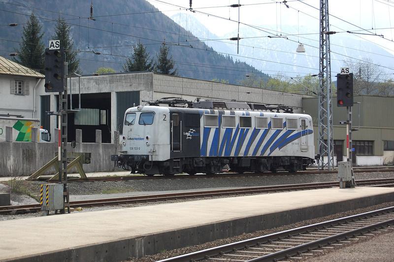 Now with Lokomotion, former DB loco 139 133 at Kufstine, Austria.