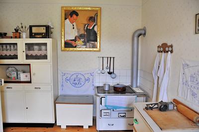 Thal - Musée d'Arnold Schwarzenegger - La cuisine de l'enfance
