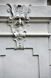 Eisenstadt - Palais Esterházy - Mascaron de la cour intérieure