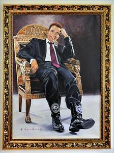 """Thal - Musée d'Arnold Schwarzenegger - Les bottes du """"gouvernator"""""""